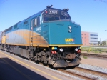 VIA 15 arriving at Moncton May 30 2008